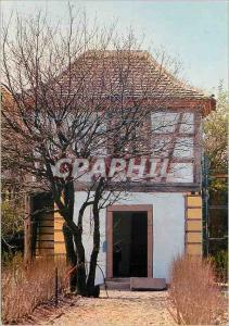 Moderne Karte Ungersheim (Haut Rhin) Ecomusee de Haute Alsace ce Pavillon de Jaridn du XVIIIe siecle Provenant
