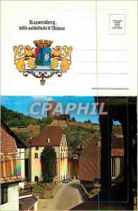 Moderne Karte Kaysersberg Ville Medievale d'Alsace