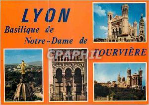 Moderne Karte Lyon Basilique Notre Dame de Fourviere Ancienne Chapelle a Droite Abside de la Basilique