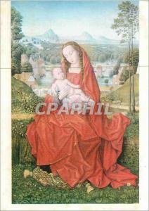 Moderne Karte Burgos Cathedral Sainte Vierge a l'Enfant Jesus Memling S XV