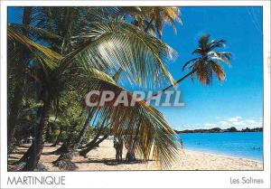 Moderne Karte Martinique Les Salines