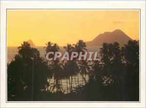 Moderne Karte Martinique le Rocher du Diamant l'Anse du Diamant est l'un des plus Beaux Paysages de la Martini