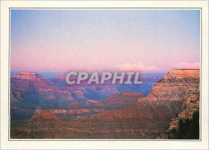 Moderne Karte Arizona le Grand Canyon Feu d'Artifice Petrifie Tranche de Geologie Feuilletee
