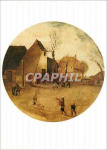 Moderne Karte Musees Royaux des Beaux Arts de Belgique Bruxelles Abel Grimmer 1570 1619L'Hiver