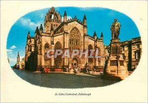 Moderne Karte St Giles Cathedral Edinburgh