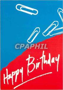 Moderne Karte Happy Birthday