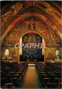 Moderne Karte N D d'Alban Interieur de l'Eglise dans un Cadre Occidental Decor d'Orient