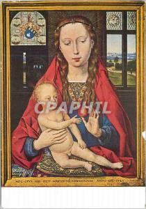 Moderne Karte Hopital Saint Jean Bruges (Ecole Flamande) Hans Memling (vers 1425 1494) la Vierge a la Pomme