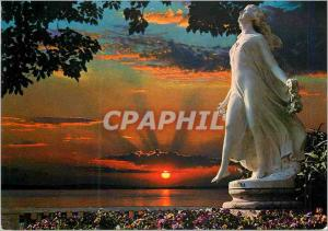 Moderne Karte Sanremo la Riviere des Fleurs Statue le Printemps