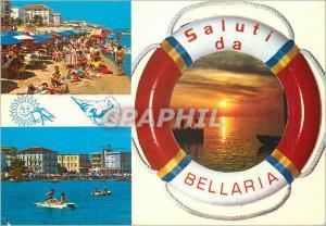 Moderne Karte saluti da Bellaria