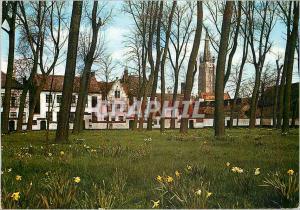 Moderne Karte Bruges Beguinage