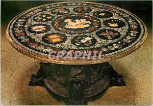 Moderne Karte Firenze Galerie Pitti Table en Mosaique Florentine