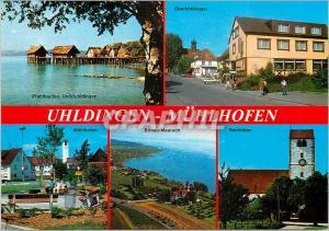 Moderne Karte Uhldingen Muhlhofen am Bodensee