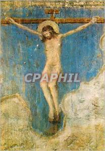 Moderne Karte Avignon Palais des Papes Chapelle St Martial Christ en Croix Fresque de Matteo Giovanetti (1344