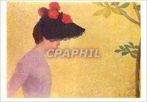 Moderne Karte Musee Hyacinthe Rigaud Perpignan Maillol Aristide Tete de Jeune Fille
