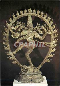 Moderne Karte Paris Musee Guimet Civa Dansant XIe siecle Bronze