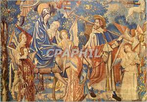 Moderne Karte Cathedrale de Reims (XIIIe s) Tapisseries de la Vie de la Vierge la Fuite en Egypte