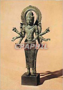 Moderne Karte Paris Musee Guimet Avalokitecvara a Dix Bras Art Indo Javanais Periode Java Centre entre le VIII