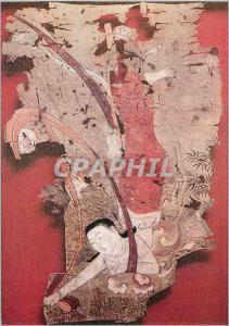 Moderne Karte Paris Musee Guimet Sacrifice du Bodhisattva a Tigresse Affamee Chine Xinjiang et Dunhuang VIIIe