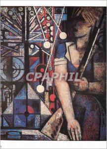 Moderne Karte Musee d'Art Moderne de la Ville de Paris Marcel Gromaire (1892 1971) Tir Forain 1933 Huile sur T