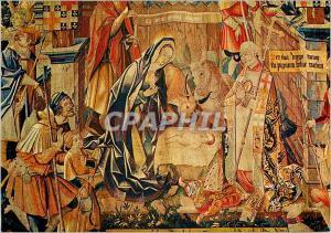 Moderne Karte Cathedrale de Reims Tapisseries de la Vie de la Vierge La Nativite