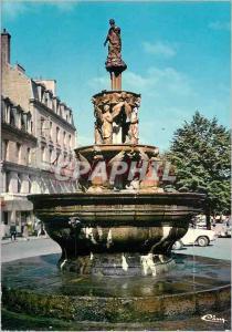 Moderne Karte Guingamp (C du N) La Fontaine