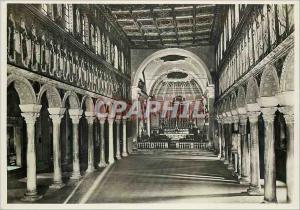 Moderne Karte Ravenna Basilica di S Apollinare Nuovo Interno La Navata maggiore (VI Sec)