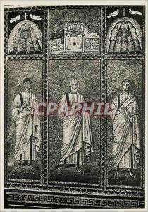 Moderne Karte Ravenna Basilica di S Apollinare Nuovo Pareta deatra Profeti e Santi Padri L'Ultima Cena (Musaic