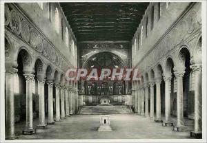 Moderne Karte Ravenna (dintorni) Basilica di S Apollinare in Classe La Navata Maggiiore (VI Sec)