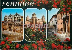 Moderne Karte Ferrara