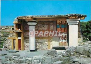 Moderne Karte Cnossos Le Propylee Sud