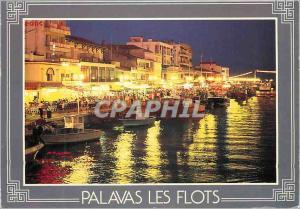 Moderne Karte Palavas les Flots Ambiance de Nuit au Quai P Cunq nous avons choisi la France et la Mediterranee