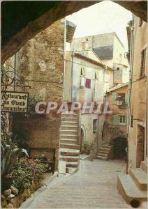 Moderne Karte Roquebrune Cap Martin (Alpes Maritimes) Reflets de la Cote d'Azur une Vieille Rue