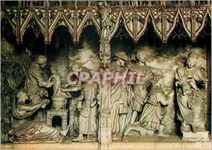 Moderne Karte Chartres (Eure et Loir) en Beauce Pourtour du Choeur de la Cathedrale Circoncision et Adoration