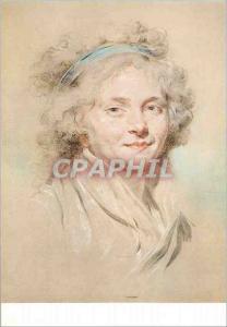 Moderne Karte Dijon Musee des Beaux Arts Claude Hoin Tete de Jeune Fille