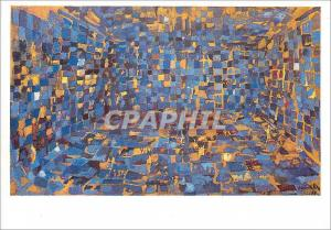 Moderne Karte Dijon Musee des Beaux Arts Maria Elena Vieira da Silva la Grande Chambre Bleue