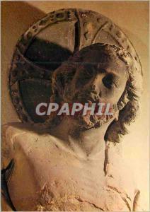 Moderne Karte Reims Musee du Tau le Christ provenant de la Tour Nord face Nord