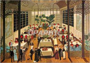 Moderne Karte Rodolphe Rousseau le Restaurant Belle Epoque Galerie Naifs et Primitifs Rue du Dragon Paris