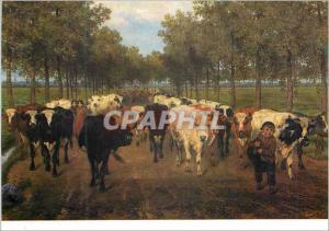 Moderne Karte Museum voor Schone Kunsten Gent Xavier de Cork 1818 1896 Meesstraat a Gand