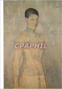 Moderne Karte Museum voor Schone Kunsten Gent G Van de Woestyne 1881 1947 La Femme de l'artiste