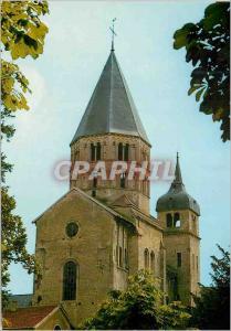 Moderne Karte Abbaye de Cluny (Saone et Loire) Clocher de l'Eau Benite et Clocher de l'Horloge (XIe et XIIe S)