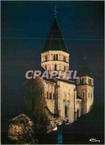 Moderne Karte Cluny (S et L) L'Abbaye Illuminee