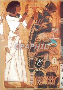 Moderne Karte Paris Musee du Louvre Departement des Antiquites Egyptiennes Neb Qued Porteur de la Palette de S