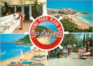 Moderne Karte Costa Dorada Tarragona Roda de Bara Camping Park Playa Bara