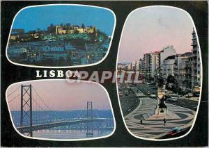 Moderne Karte Lisboa Portugal