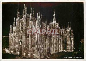 Moderne Karte Milano Il Duomo