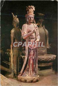 Moderne Karte Les Statues du Temple Yan Inferieur Tatoung Lion (916 1125 A D)