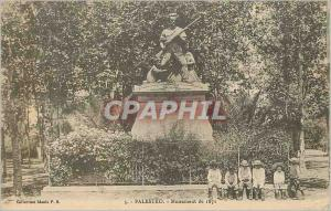 Ansichtskarte AK Palestro Monument de 1871 Militaria