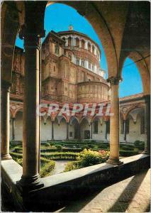 Moderne Karte Milano Eglise de S Marie des Graces le Cloitre