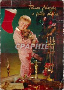 Moderne Karte Buen Natale e Felice Anno